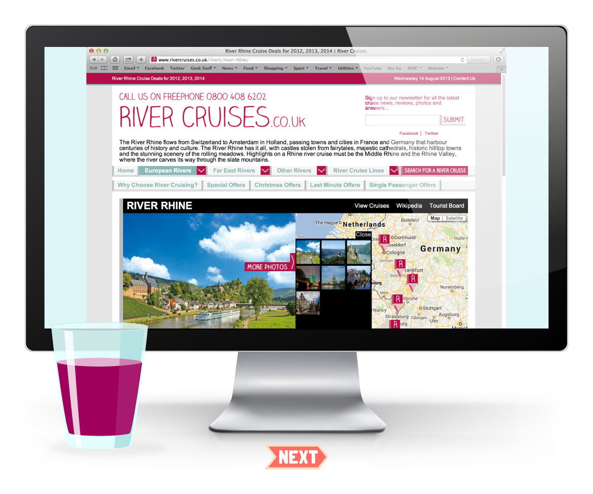 River Cruises Website