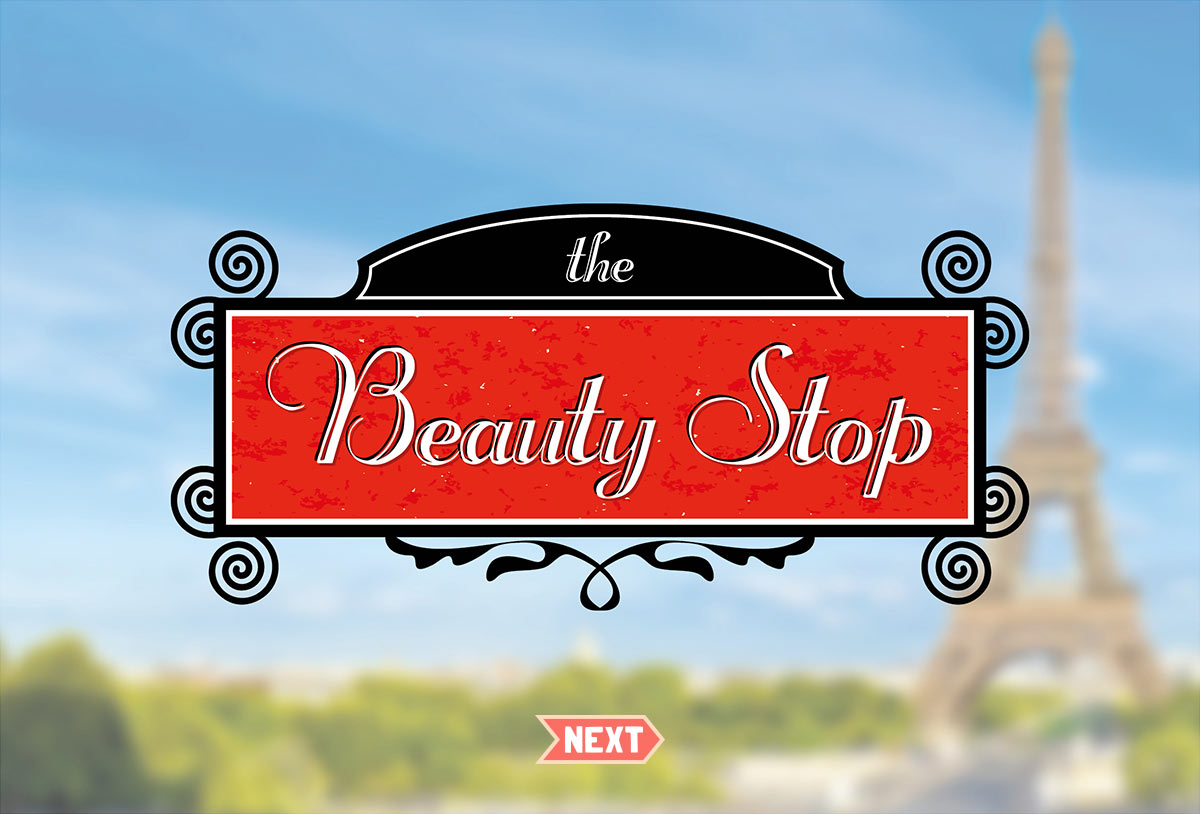 The Beauty Stop Logo Designs