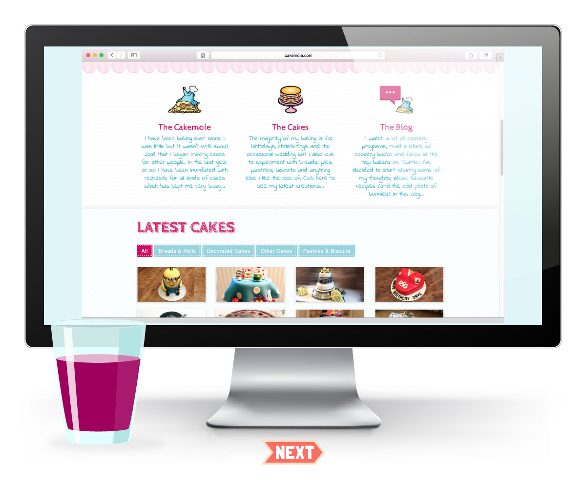 Cakemole Website